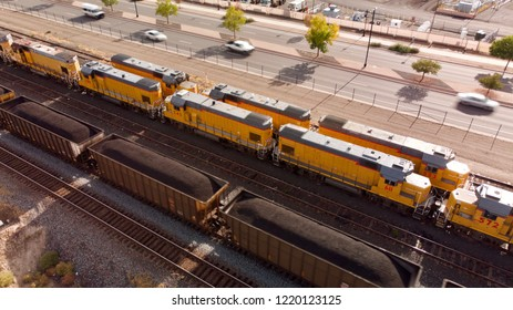 Coal Cars and Locomotive Engines