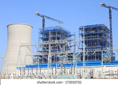 Coal fire, Lignite power plant, under-construction