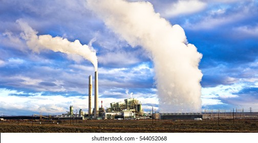 Coal fired power plant.