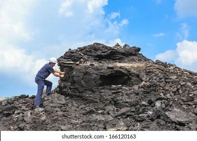 coal geologist at mae mo lignite mine