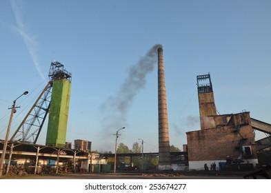 Coal mine in Ukraine