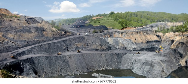 coal open-cast mining
