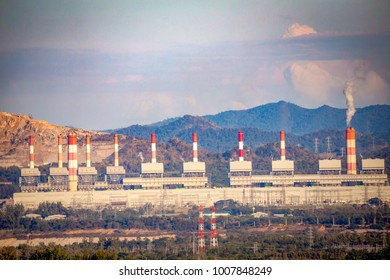Coal power plant And smoke pollution, air pollution.