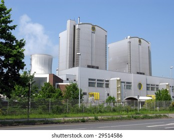Coal power station, coal-fired power station in Germany