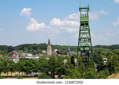 coal tower in ruhr area in castrop rauxel