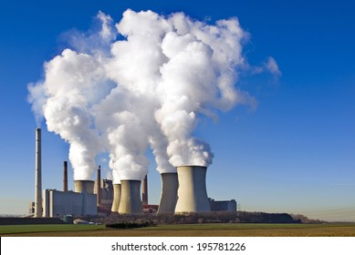 coal-fired power plant Neurath, Germany