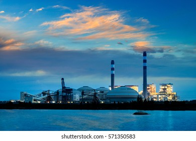 Coal-fired power plants in the sea