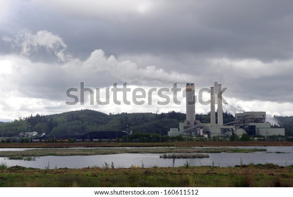 Coal-fired steam power plant