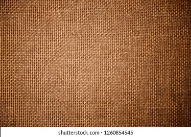 Coarse grained pattern and textured of burlap sack or sackcloth (hessian) made of jute rope use for sacking or bagging