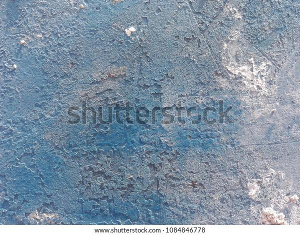 Coarse surface of paint on Siemens floor