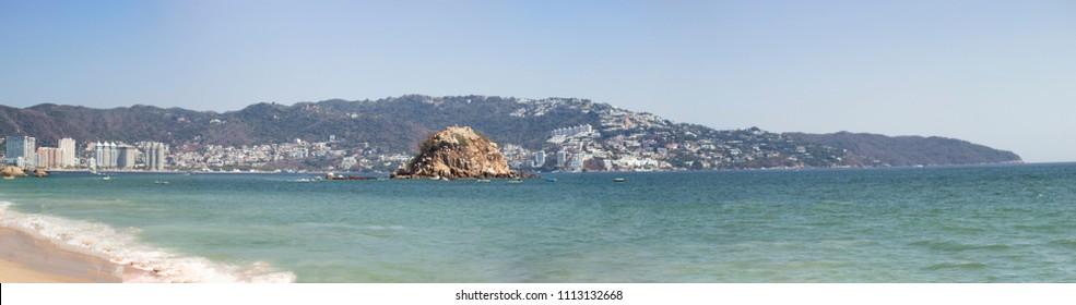 Coast of Acapulco, Mexico