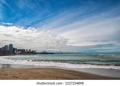 coast of the Atlantic Ocean. Argentina Mar del Plata