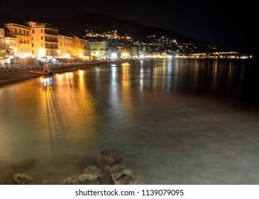 Coast and Beach of Alassio