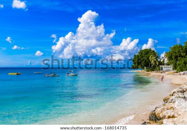 Coast of the Carribean Sea, Bridgetown, Barbados