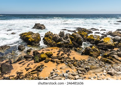 Coast of Chile of the Pacific Ocean