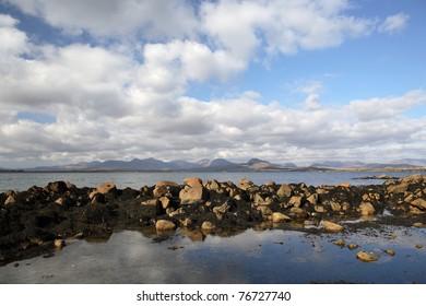 Coast in Connemara, Ireland.