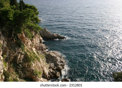Coast of Dubrovnik, Croatia.