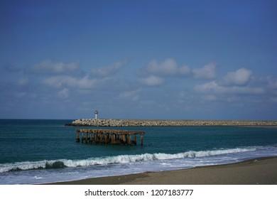 The coast of Files, Zonguldak, Turkey