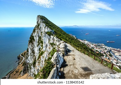 Coast of Gibraltar.