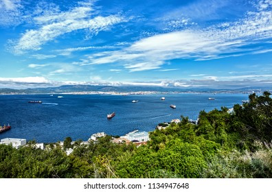 Coast of Gibraltar, port