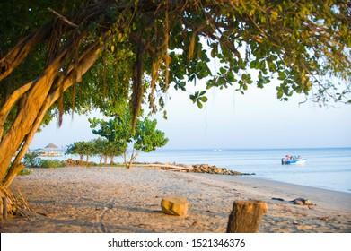 Coast of golfo de Morrosquillo, Sucre, Colombia