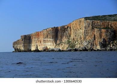 Coast of Gozo Island, Malta