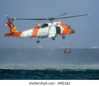 coast guard rescue at sea