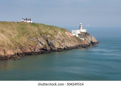 Coast of Howth in Ireland