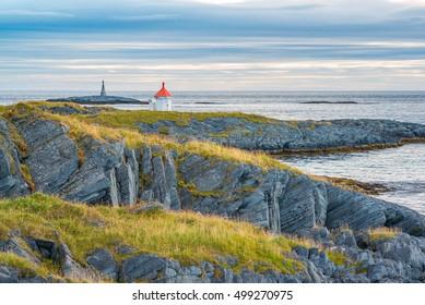 Coast landscape in northern Norway
