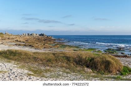 Coast of Lesconil in Fininistere