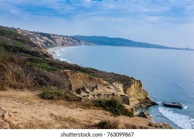 Coast line, Torrey Pines, San Diego, California