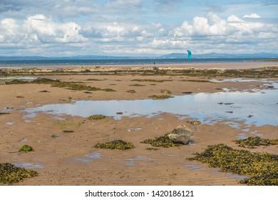 Coast at Longniddry Bents, East Lothian, Scotland.