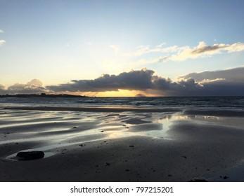 Coast of Maidens Scotland, sunrise