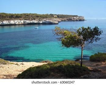 Coast of Majorca (Balearic Islands)