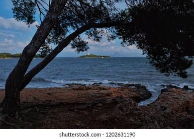The coast of Mallorca at Alcudia.