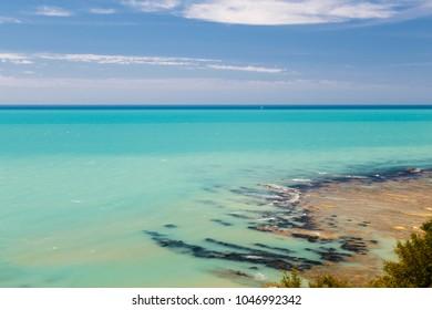 coast of mediterranean sea in Italy