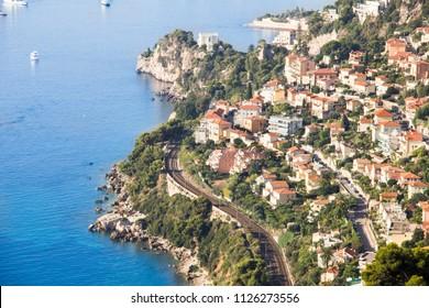 The coast of Monaco