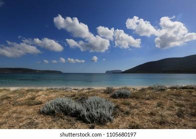 The Coast at Mugoni, Sardinia, Italy