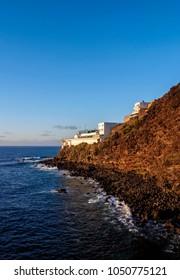 Coast near Bajamar, Tenerife Island, Canary Islands, Spain