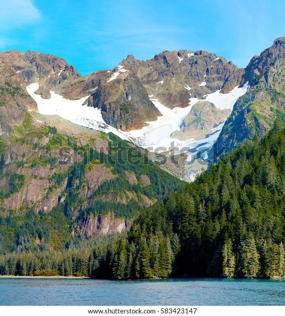 Coast near Seward, Alaska, USA