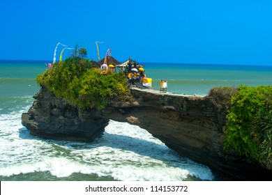 Coast near Tanah Lot, Bali. Indonesia