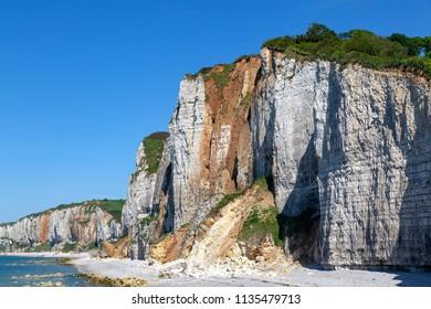 Coast near Yport, Normandy, France