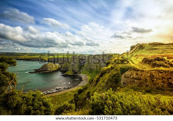 Nordirland-Küste