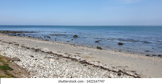 The coast of Northern Ireland, Beach scene overlooking Holywood.