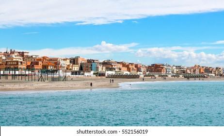 Coast, Ostia, Rome, Italy