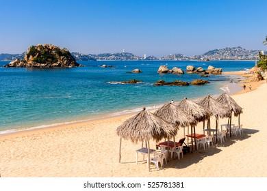 Coast of the Pacific Ocean, Acapulco, Mexico