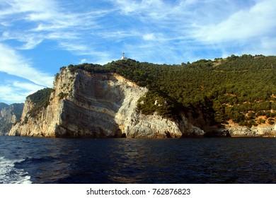 Coast of the Palmaria Island