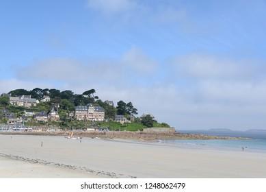 Coast at Perros-Guirec, Brittany