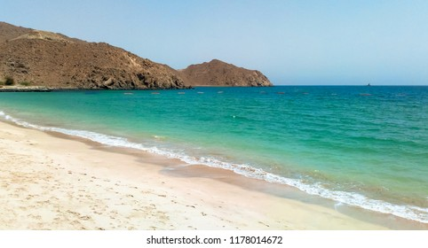 Coast of the Persian Gulf. Fujairah. UAE.