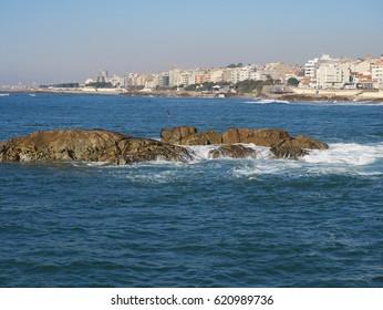 Coast in Porto, Portugal